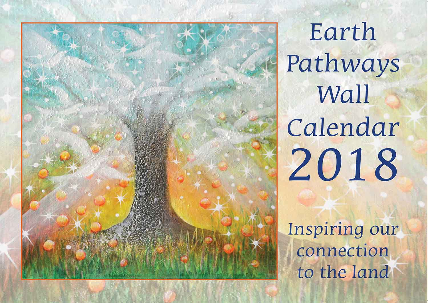 Calendar Cover 2018 : Calendar sample pages earthpathways diary
