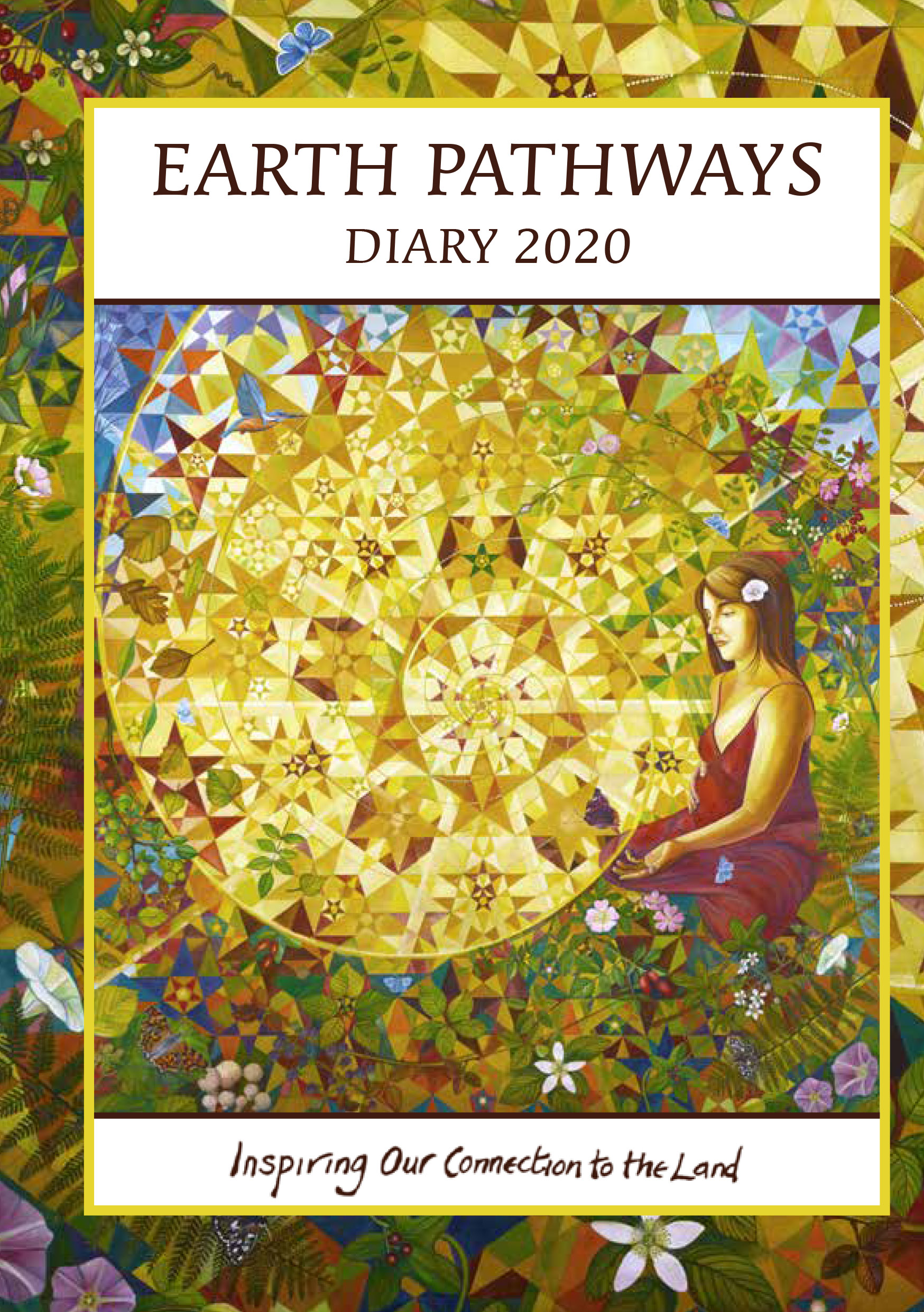 Earth Pathways Diary 2020 | The Best 2020 Pagan and Witchy Planners | WitchcraftedLife.com